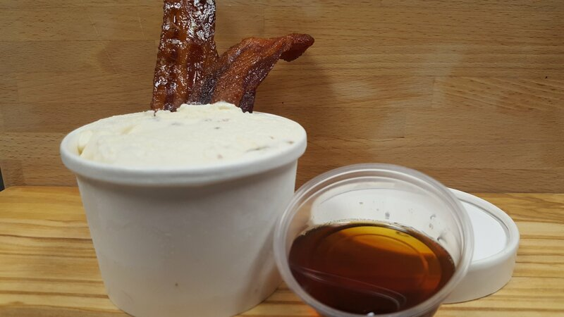 Maple Bacon Frozen Custard